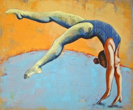Obraz do salonu artysty Renata Magda pod tytułem Acrobat