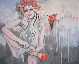 Obraz do salonu artysty Kamila Jarecka pod tytułem Orange