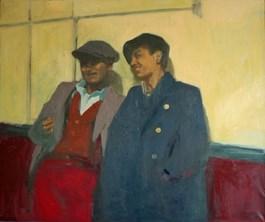 Obraz do salonu artysty Agata Ruman pod tytułem Chłopcy z ferajny