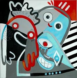 Obraz do salonu artysty Aga Pietrzykowska pod tytułem Feelings