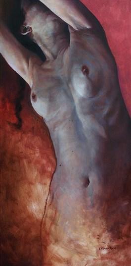 Obraz do salonu artysty Krzysztof Powałka pod tytułem Brak tytułu