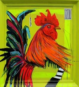 Obraz do salonu artysty Wojciech Brewka pod tytułem Haliaeetus albicilla