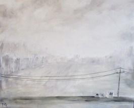 Obraz do salonu artysty Misia Łukasiewicz pod tytułem Ostatnia prosta
