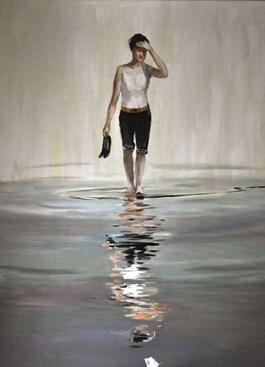 Obraz do salonu artysty Dorota Zych-Charaziak pod tytułem Melancholia