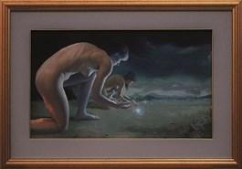 Obraz do salonu artysty Michał Powałka pod tytułem Fireflies