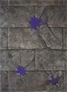 Obraz do salonu artysty Bartosz Stępiński pod tytułem Postrzał