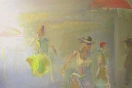 Obraz do salonu artysty Joanna Aninowska pod tytułem Sezon na dziewczęta
