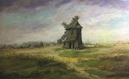 Obraz do salonu artysty Ryszard Radziwilski pod tytułem Stary młyn