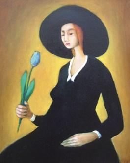 Obraz do salonu artysty Miro Biały pod tytułem Najpiękniejszy obraz na świecie