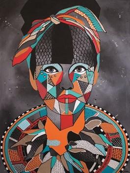 Obraz do salonu artysty Monika Mrowiec pod tytułem Pin-up girl