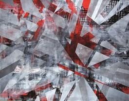 Obraz do salonu artysty Magdalena Karwowska pod tytułem Miasto XXX