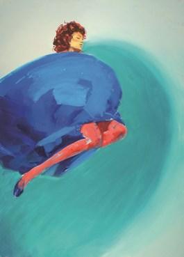 Obraz do salonu artysty Szymon Kaczmarek pod tytułem Suspense