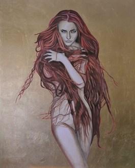 Obraz do salonu artysty Mateusz Dolatowski pod tytułem Majesty