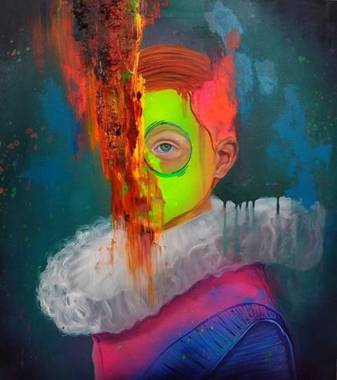 Obraz do salonu artysty Campio pod tytułem Młody Dziedzic