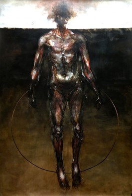 Obraz do salonu artysty Wojciech Pelc pod tytułem Tantal