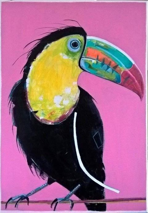 Obraz do salonu artysty Karolina Kucharska pod tytułem Wieczór