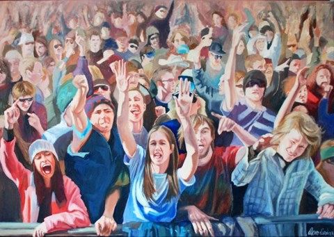 Obraz do salonu artysty Katarzyna Orońska pod tytułem Joy