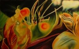 Living room painting by Agnieszka Brzozowska titled II