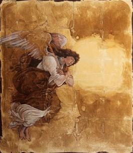 Obraz do salonu artysty Sylwia Perczak pod tytułem Pomiędzy