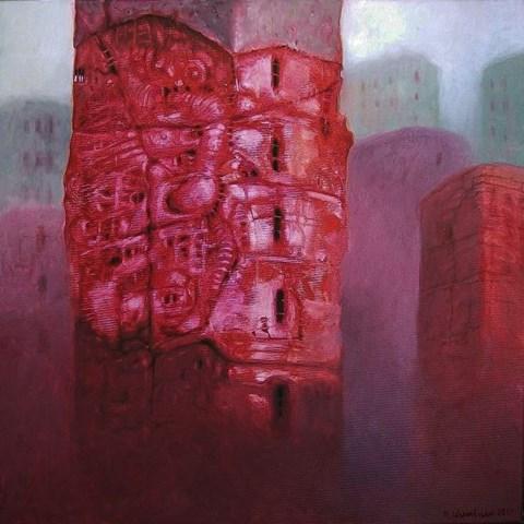 Obraz do salonu artysty Maciej Wierzbicki pod tytułem Obiekt 7