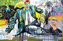 Obraz do salonu artysty Piotr Dudek pod tytułem Macie