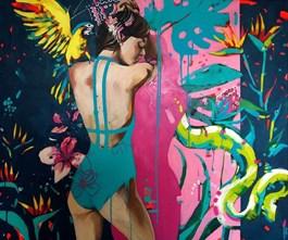 Obraz do salonu artysty Kamila Jarecka pod tytułem Ewa