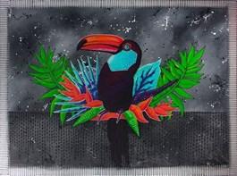 Obraz do salonu artysty Monika Mrowiec pod tytułem Obserwatorium