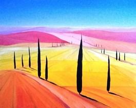 Obraz do salonu artysty Jacek Malinowski pod tytułem Toscana XXII