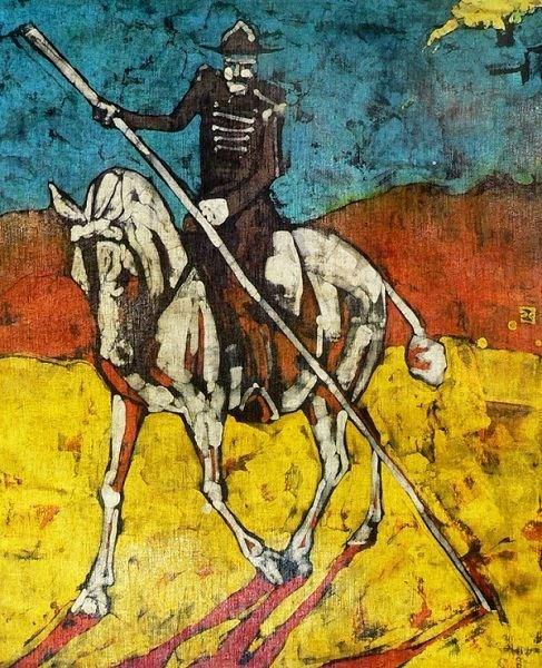 Obraz do salonu artysty Joanna Czubak pod tytułem Don Kichote 1