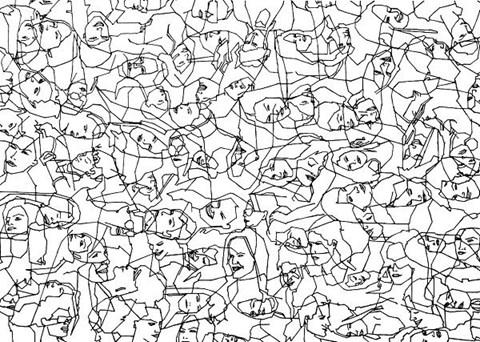 Obraz do salonu artysty Robert  Olszowski pod tytułem Czas iprzestrzeń