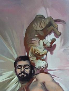 Obraz do salonu artysty Jakub Godziszewski pod tytułem Sen VI