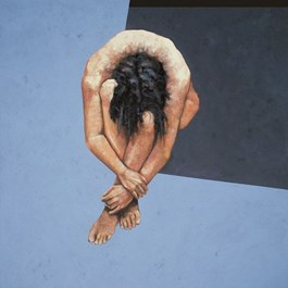 Obraz do salonu artysty Leszek Harasimowicz pod tytułem Don't Move