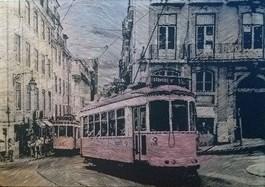 Obraz do salonu artysty Kamil Kmiecik pod tytułem Tramvia