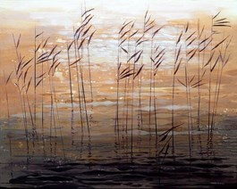 Obraz do salonu artysty Marta Bilecka pod tytułem Waterland – Water surface