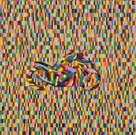 Obraz do salonu artysty Marek Konatkowski pod tytułem Motocycle