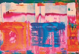 Obraz do salonu artysty Dominik Smolik pod tytułem Ogród rozkoszy ziemskich