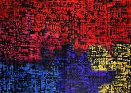 Obraz do salonu artysty Magdalena Karwowska pod tytułem MIasto 100