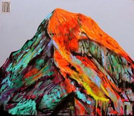 Obraz do salonu artysty Wojciech Brewka pod tytułem Everest moich marzeń