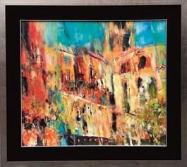 Obraz do salonu artysty Krzysztof Ludwin pod tytułem Sycylia I