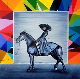 Obraz do salonu artysty Paulina Zalewska pod tytułem Amazonka II