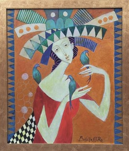 Obraz do salonu artysty Jan Bonawentura Ostrowski pod tytułem Ptaszarka