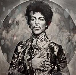 Obraz do salonu artysty Łukasz Biliński pod tytułem Prince