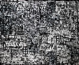 Obraz do salonu artysty Magdalena Karwowska pod tytułem Miasto 101