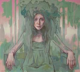 Obraz do salonu artysty Marcin Jaszczak pod tytułem Leśny duch