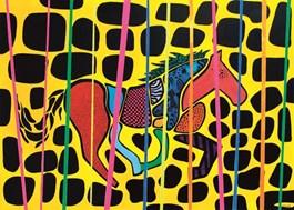 Obraz do salonu artysty Łukasz Leskier pod tytułem Diskoń