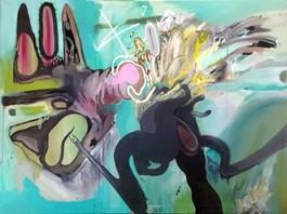 Obraz do salonu artysty Piotr Dudek pod tytułem Ramramram