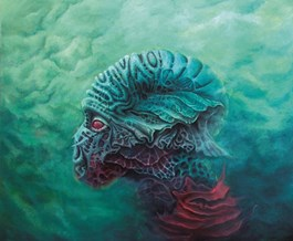Obraz do salonu artysty Piotr Musiał pod tytułem Bioforma