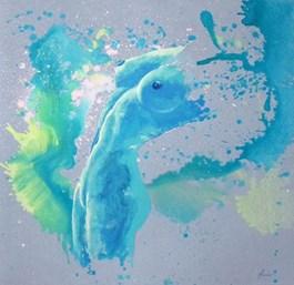 Obraz do salonu artysty Magda Maciaszek pod tytułem Blue sigh 4