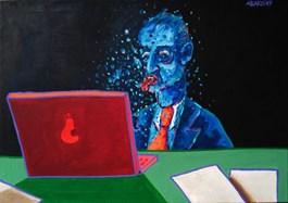 Obraz do salonu artysty Witold Abako pod tytułem Look out!