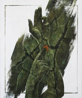 Obraz do salonu artysty Bartosz Stępiński pod tytułem Znak